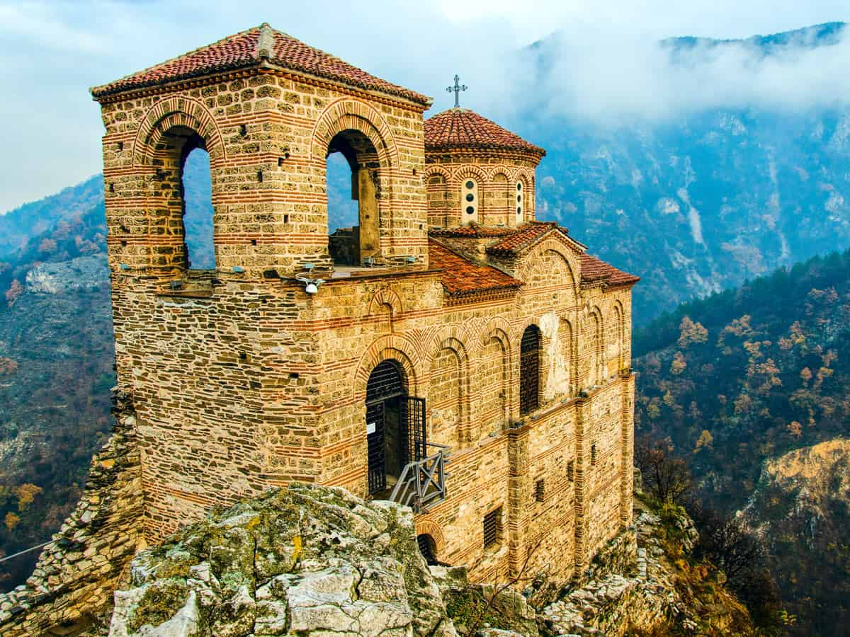 Day 5: Visit Bachkovo Monastery and the mighty Asen's Fortress