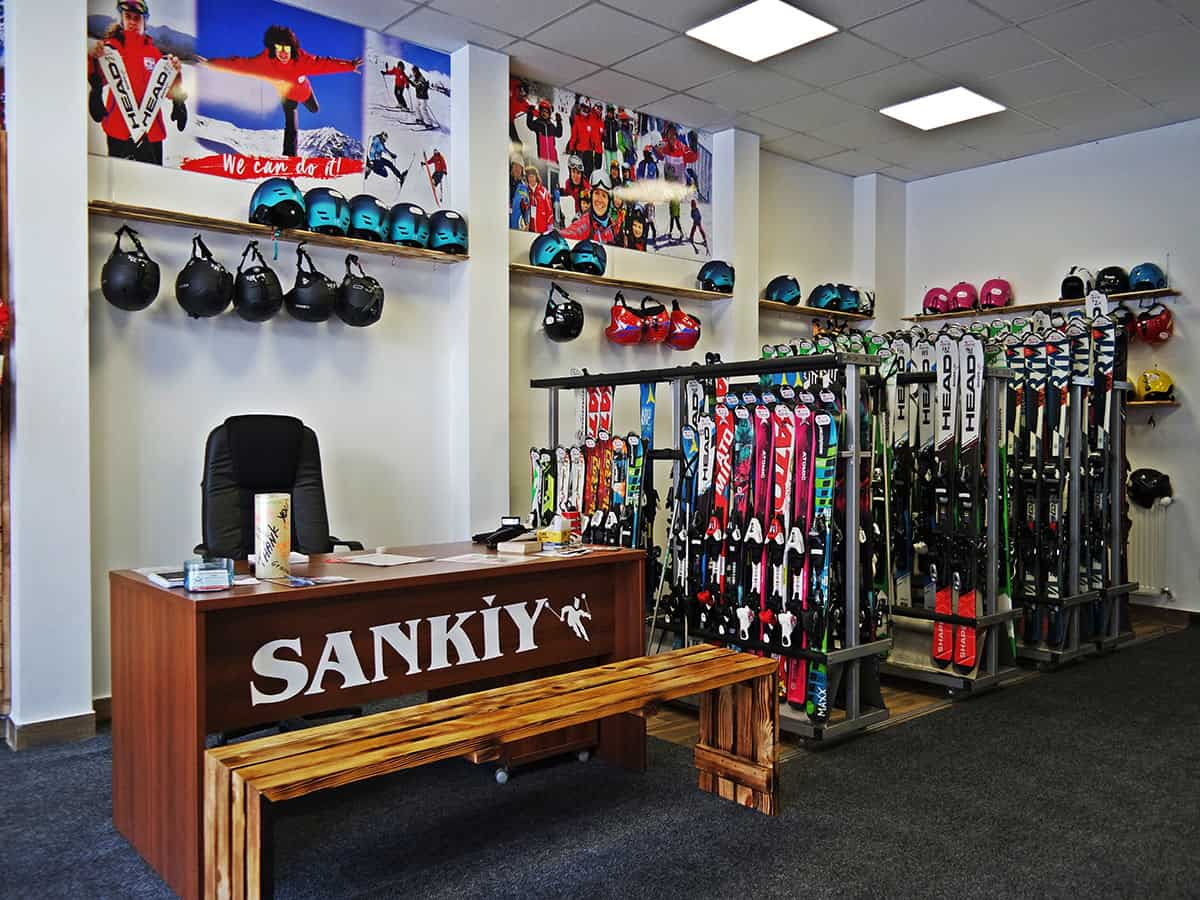 SankiySki School - the best ski school in Bansko