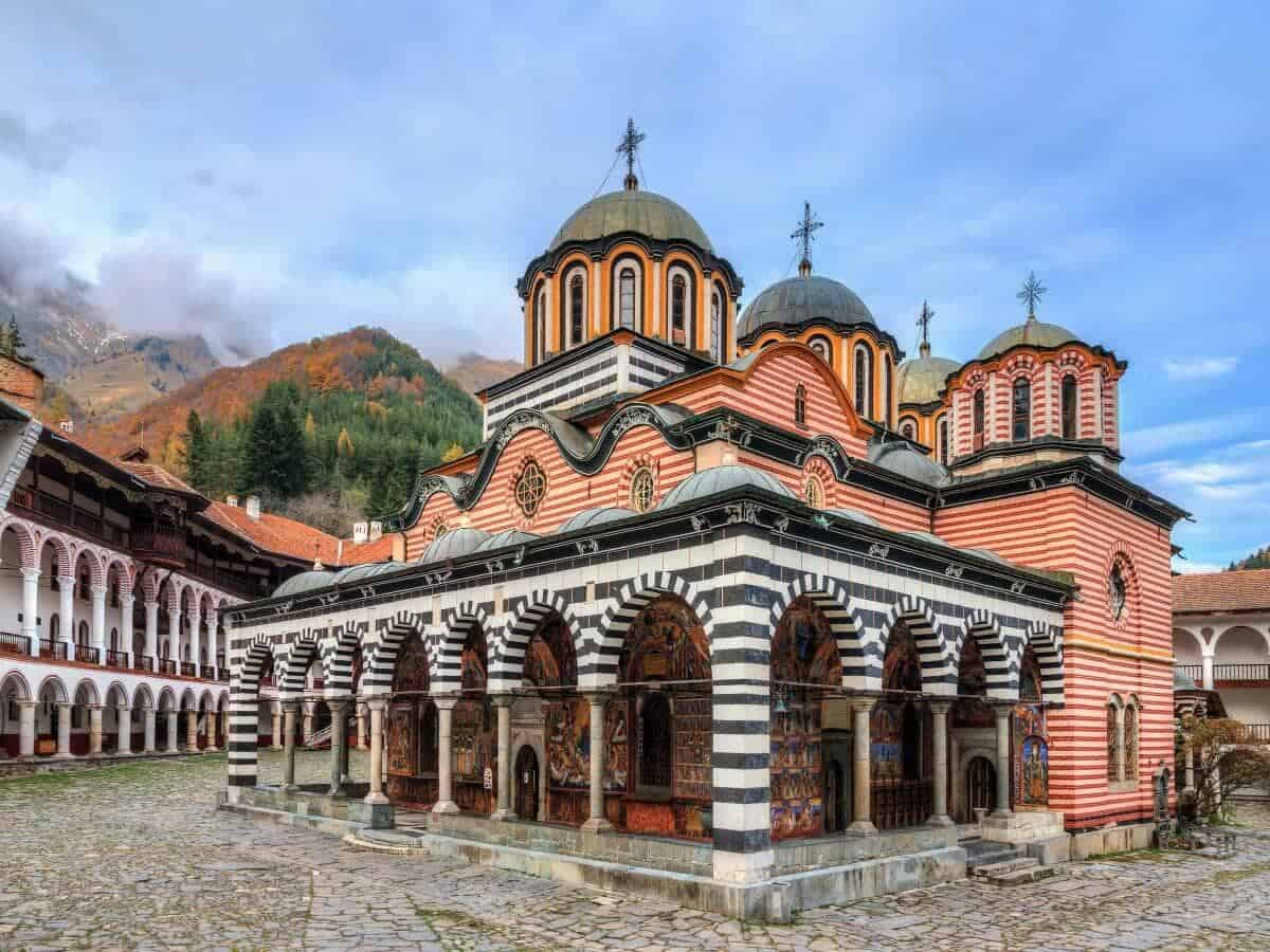 6th August 2019/Day 2: Photograph Rila Monastery