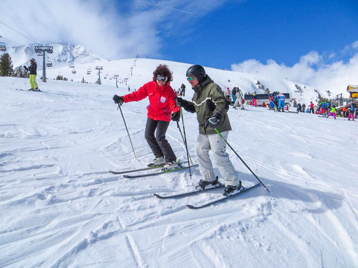 As a first-time skier learn to ski in the Best European ski resorts for beginners