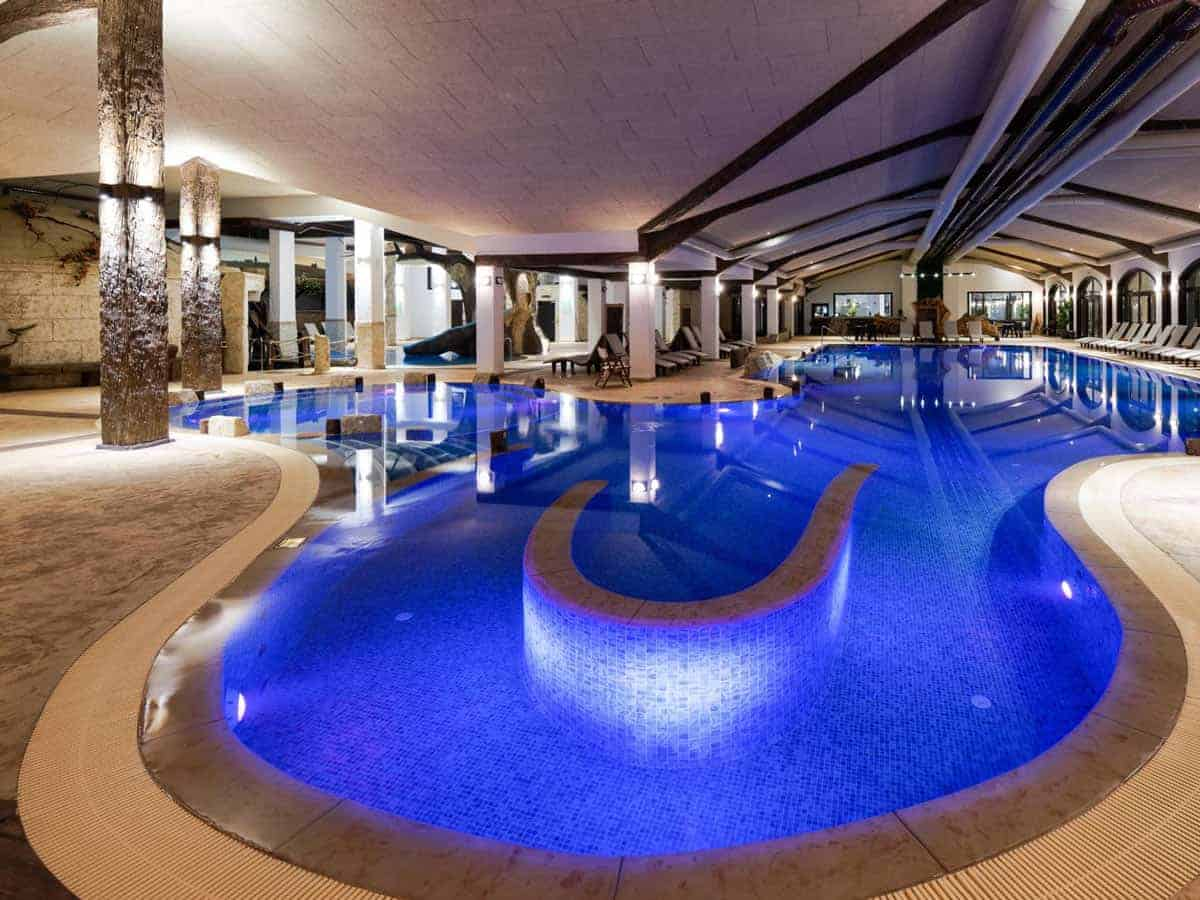 Indoor swimming pool with hot mineral water in Starosel, Bulgaria