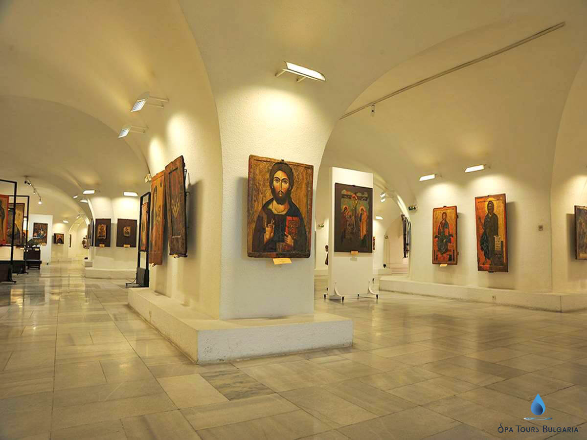 Photo of the Museum of Christian Art in Sofia, Bulgaria