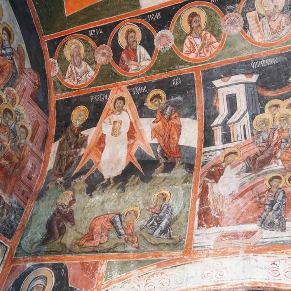 Jesus Christ in a rocket, Dobarkso church